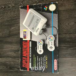 Super Nintendo Snes Console Boxed Super Mario World Variante