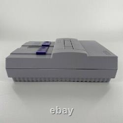 Super Nintendo Snes Console Donkey Kong Country Set Dans La Boîte Cib Tested Nice