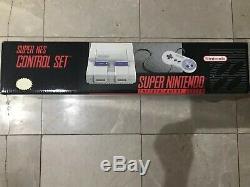 Super Nintendo Snes Console Instinct De Tueur CD De Musique (sealed) Rare! Teste