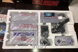 Super Nintendo Snes Console Mario World Original New In Box 1994 Never Used Nib
