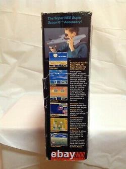 Super Nintendo Snes Console System Box Seulement Version Mario All-stars