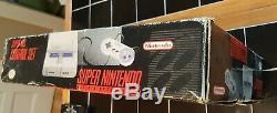 Super Nintendo Snes Console Système Boxed Tueur Instinct Complet Petite Boîte