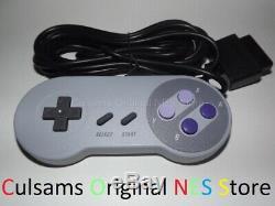 Super Nintendo Snes Console Système Complet Avec 2 Contrôleurs Et Garantie