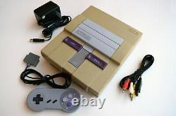 Super Nintendo Snes Console Système De Jeu Vidéo Complet