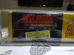 Super Nintendo Snes Console Toutes Les Stars Variant Distrubutor Sealed & Graded Pal Uk