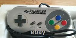 Super Nintendo Snes Donkey Kong Crate Console Boîte 100% Complet V-good