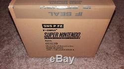 Super Nintendo Snes Etui Scellé F-zero Lot De 6 Neuf