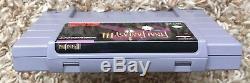 Super Nintendo Snes Final Fantasy III 3 Complet Dans La Boîte Cib Testée Enregistre