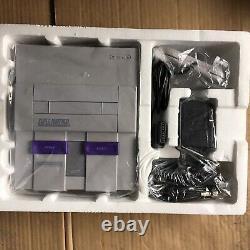 Super Nintendo Snes Flambant Neuf Jamais Utilisé Super Rare Wow