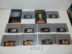 Super Nintendo Snes Jeux Fun Complete Vous Pick & Gamesplanet Vidéo Mis À Jour 9/14