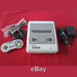 Super Nintendo Snes Konsole + Contrôleur & Kabel 1 Chip Version Top