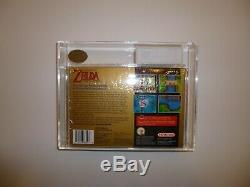 Super Nintendo Snes Legend Of Zelda Scellé En Usine Ukg Graded 85 Near Mint