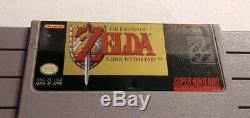 Super Nintendo Snes Lot De Jeux Vidéo-10 Jeux-titres Peu Communs! Shadowrun, Zelda, E