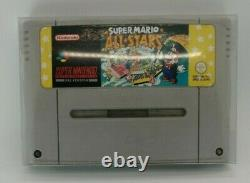 Super Nintendo Snes Mario All Stars Vert Console Pal Coffret Protecteur Teste