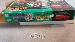 Super Nintendo Snes Mario All Stars Vert Console Pal Coffret Teste