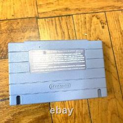 Super Nintendo Snes Original Console Oem System Set Avec Mario All Stars Working