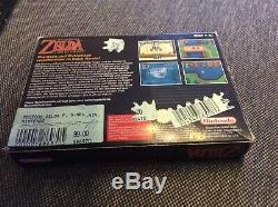 Super Nintendo Snes Original- Zelda Un Lien Vers Le Passé Pal Ovp Boxed Secret Conseils