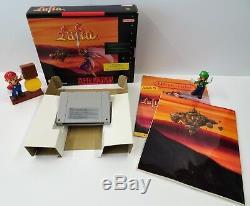 Super Nintendo Snes Spiel Lufia Spieleberater Sonderheft + Ovp Big Box Cib