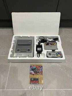 Super Nintendo Snes Street Fighter II Turbo Console