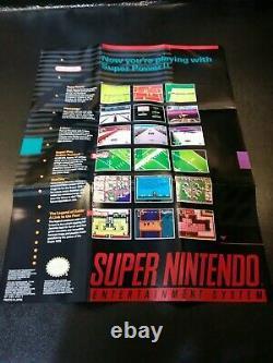 Super Nintendo Snes Super Mario World Edition Console Complete En Boîte