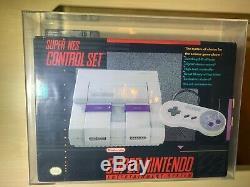 Super Nintendo Snes Système Console De Jeu Gris Nouveau Vga 75