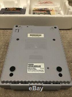 Super Nintendo Snes Système Console Donkey Kong Country Set Console De Jeux Inserts