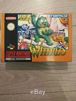 Super Nintendo Snes Whirlo Sonic Blast Man Monde Cool Nouveau