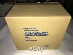 Super Nintendo Snes Widget Pal Fr Fah Et Shipbox En France N-mint Nouveau Cadavres D'animaux