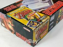 Super Nintendo Sns-101 Zelda Target Edition, Near Complet En Box Snes Mini