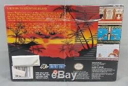 Super Nintendo Super Adventure Island II 2 Sealed Jeu Vidéo 1991 Snes