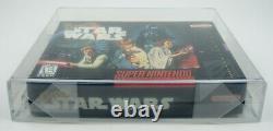 Super Nintendo Super Star Wars Snes Nouveau / Scellé / Vga 85 Près De Mint+