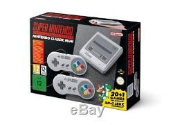 Super Nintendo Système De Divertissement Snes Mini Classic Edition Nouveau