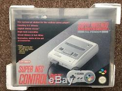 Super Nintendo Vga Graded 85 Non Utilisé Console Nouveau Snes