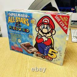 Super Nintendo (snes) Boîtier Acrylique Fait Sur Mesure Pour Consoles Protect & Display
