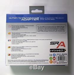 Super Retro Advance Sur Gameboy Gba Vers Snes Sfc Super Nintendo Pour Adaptateur De Convertisseur