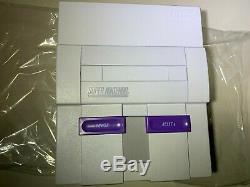 Super Super Nintendo Console Mario All Stars Version Open Box