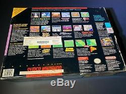 Super Super Nintendo Console Zelda Bundle Open Box