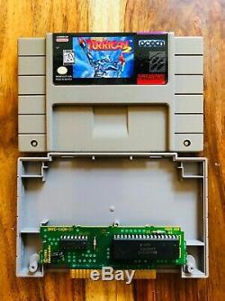 Super Turrican 2 (super Nintendo Snes 1995) Authentique Tres Rare