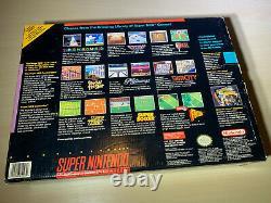 Système De Console De Jeu Super Nintendo Snes Open Box