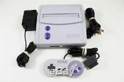 Système De Console Snes Super Nintendo Mini Original Rare