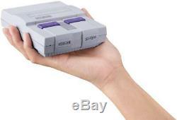 Système De Divertissement Snes Classic Mini Edition Super Nintendo Tout Neuf, Scellé