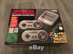 Système De Divertissement Super Nes Super Nintendo Nintendo Classic Snes Neuf