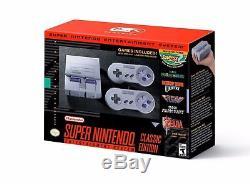 Système De Divertissement Super Nintendo Console Snes Classic Edition Nouveau Ships Fast