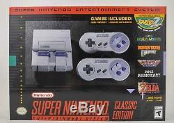 Système De Divertissement Super Nintendosuper Nes Édition Classique Snes Mini Edition