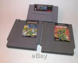 Teenage Mutant Ninja Turtles II & IV 2 4 Tortues Dans Le Temps Super Nintendo Snes Nda