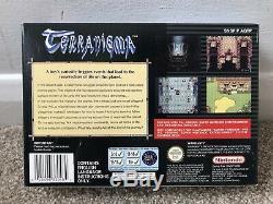 Terranigma Super Nintendo Snes Game Boxed Complete Avec Manuel Officiel Eur Pal