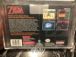 The Legend Of Zelda A Link To The Past Snes New Sealed Vga Graded 85+ Gold Gem