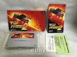 Top Racer 2 Nintendo Super Famicom Snes Japon Jeux Vidéo Authentiques