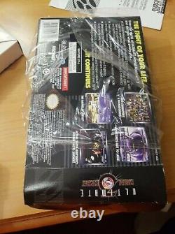Ultimate Mortal Kombat 3 (snes Super Nintendo) Authentique Cib Complete Manuel Box