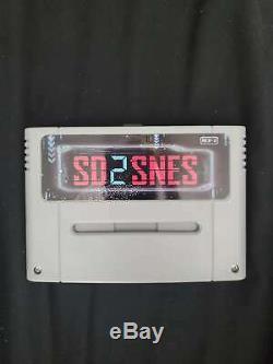 Us Seller Sd2snes Super Nintendo Snes Flash Panier Cartouche